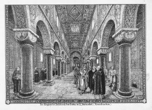 Rekonstruktion desselben Blicks von Zeichner Heinrich Hoffmann