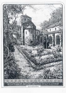 Rekonstruktion dieses Blicks vom Zeichner Heinrich Hoffmann