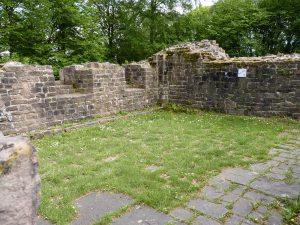 Späteres Refektorium (Speisesaal) im Südflügel