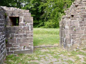 Die Klosterpforte von innen