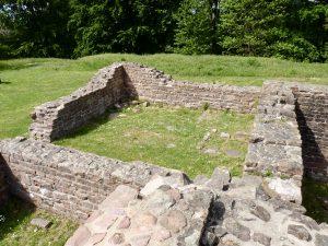 Nordwestlichster Raum der Klausur, wohl Empfangsraum für Gäste des Klosters