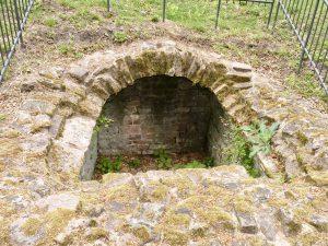 Zisterne südlich der Klostermauern