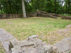 Reste des Kreuzganges des Stephansklosters