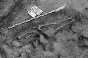 Frühmittelalterliches Grab. Foto: Institut für Ur- und Frühgeschichte Universität Heidelberg