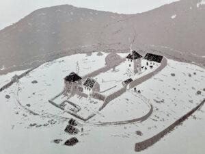 Fränkische Burg (Rekonstruktion) © KMH (B. Pfeifroth/P. Marzolff)
