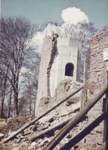 Nord- und Südturm 1980. Foto Burger
