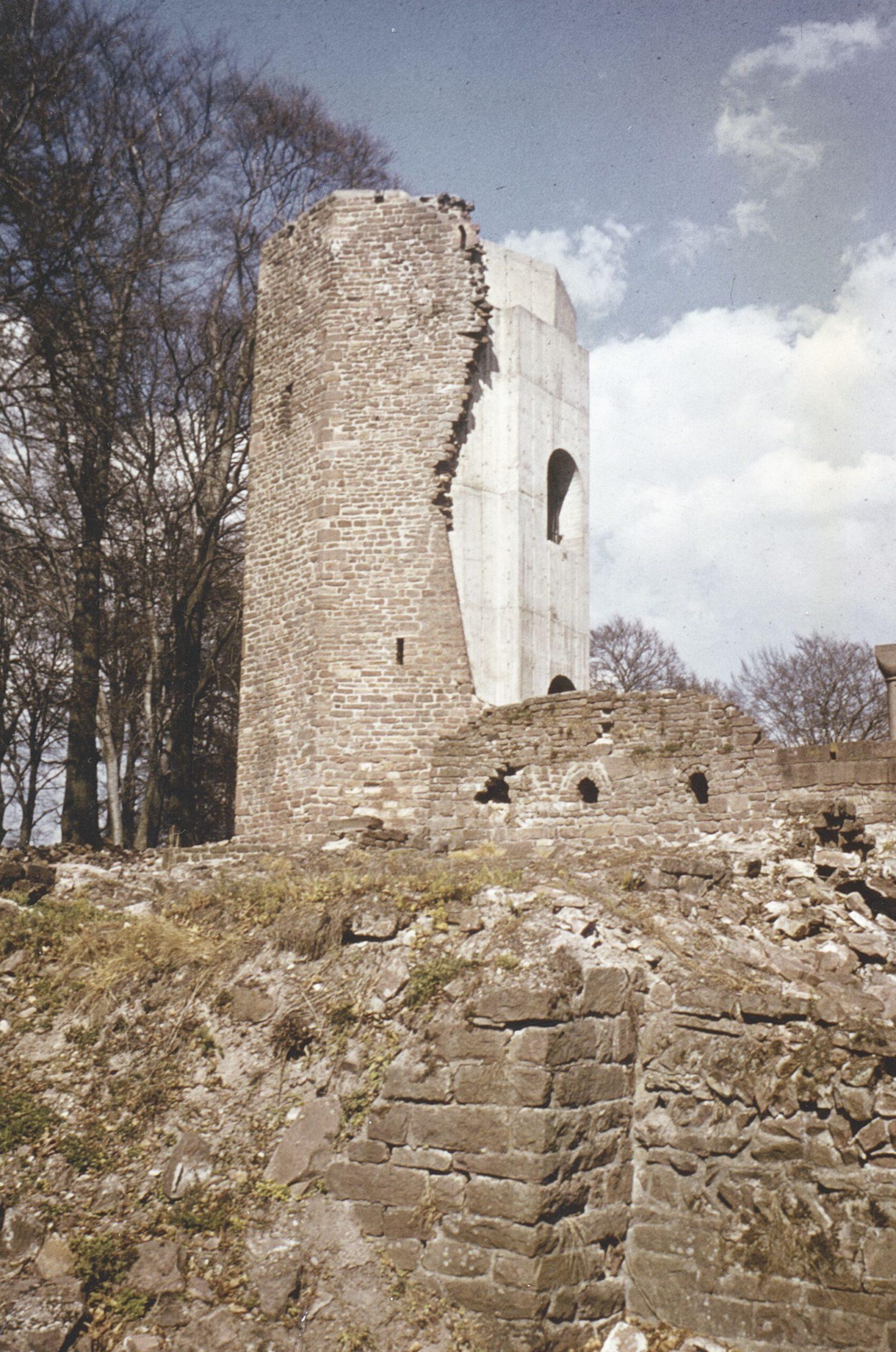 Nordturm 1980. Foto Burger