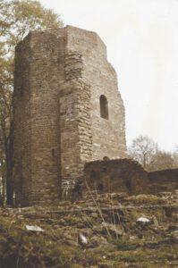 Restaurierter Nordturm. Foto Burger