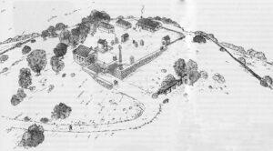Römischer heiliger Bezirk (Rekonstruktion)
