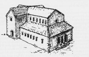 Mögliche Rekonstruktion St Michael im 10. Jh. v.Moers-Messmer 1987