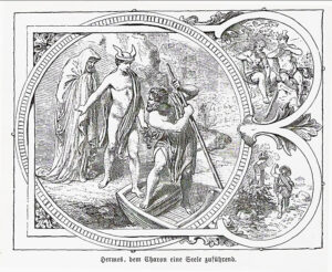 Hermes als Seelengeleiter