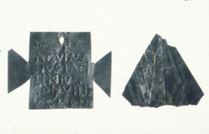 Silberne Votivbleche für Merkur © KMH (R. Ajtai/VE.DO)