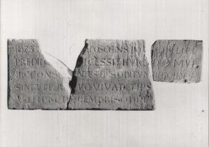 Grabplatte der Hazecha aus St. Stephan © KMH (P. Pfeifroth / T. Schöneweis)